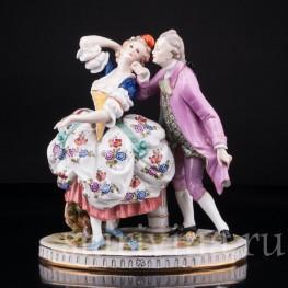 Статуэтка из фарфора Пара в танце, Германия,, нач. 20 в.
