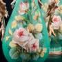 Парные зеленые вазы, Франция, кон. 19 в