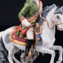 Антикварная фигурка из фарфора Всадник, Dressel, Kister & Cie, Германия, кон. 19 - нач. 20 вв.